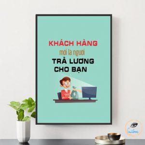 tranh văn phòng giá rẻ , tranh slogan hà nội, tranh động lực , tranh canvas văn phòng,