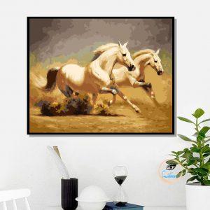 Tranh Số Hoá- Ngựa Phi